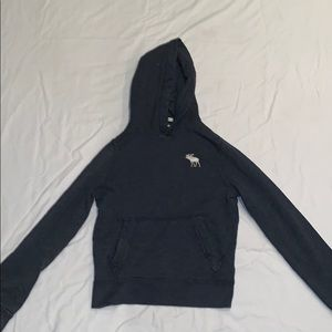 Abercrombie Muscle Blue Hoodie Amazing Condition